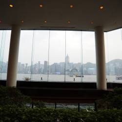 Amy's travel gallery... | HongKong | Lobby Lounge - InterContinental Hong Kong | わぁ~、これぞパノラマミックなview