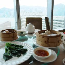Amy's travel gallery... | HongKong | Prince Restaurant | 景色最高、お食事最高♪